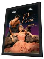 Picnic - 27 x 40 Movie Poster - Style C - in Deluxe Wood Frame