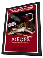 Pieces - 27 x 40 Movie Poster - Style A - in Deluxe Wood Frame