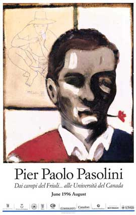 Pier Paolo Pasolini - 11 x 17 Movie Poster - French Style A
