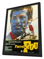 Pierrot le Fou - 11 x 17 Poster - Foreign - Style A - in Deluxe Wood Frame
