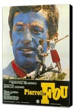 Pierrot le Fou - 11 x 17 Poster - Foreign - Style A - Museum Wrapped Canvas