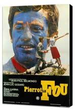 Pierrot le Fou - 27 x 40 Movie Poster - Foreign - Style A - Museum Wrapped Canvas
