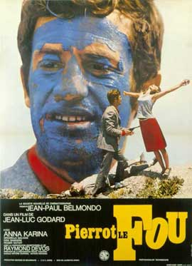 Pierrot le Fou - 11 x 17 Poster - Foreign - Style A