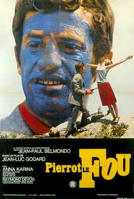 Pierrot le Fou - 27 x 40 Movie Poster - Foreign - Style A