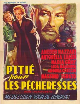 Piet� per chi cade - 11 x 17 Movie Poster - Belgian Style A