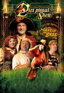 Piet Piraat (TV) - 11 x 17 TV Poster - Belgian Style A