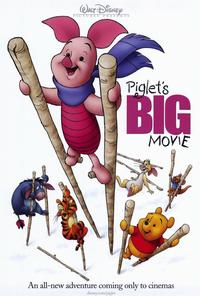 Piglet's Big Movie - 27 x 40 Movie Poster - Style A