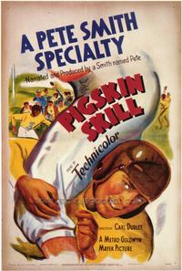 Pigskin Thrill - 43 x 62 Movie Poster - Bus Shelter Style A