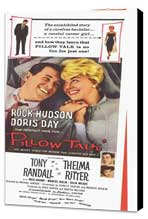 Pillow Talk - 11 x 17 Movie Poster - Style B - Museum Wrapped Canvas