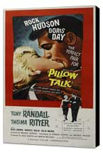 Pillow Talk - 27 x 40 Movie Poster - Style B - Museum Wrapped Canvas