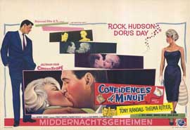 Pillow Talk - 11 x 17 Movie Poster - Belgian Style A