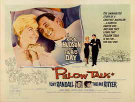 Pillow Talk - 30 x 40 Movie Poster UK - Style A