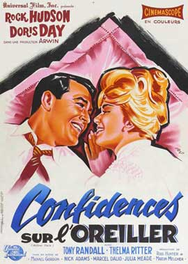 Pillow Talk - 11 x 17 Movie Poster - French Style A