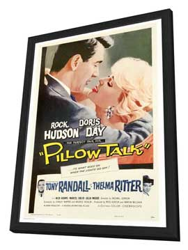 Pillow Talk - 27 x 40 Movie Poster - Style A - in Deluxe Wood Frame