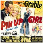 Pin-Up Girl - 30 x 30 Movie Poster - Style A