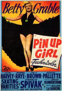 Pin-Up Girl - 43 x 62 Movie Poster - Bus Shelter Style A