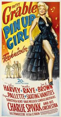 Pin-Up Girl - 11 x 17 Movie Poster - Style B