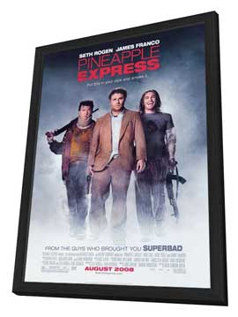 Pineapple Express - 27 x 40 Movie Poster - Style A - in Deluxe Wood Frame