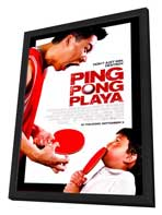 Ping Pong Playa - 27 x 40 Movie Poster - Style A - in Deluxe Wood Frame