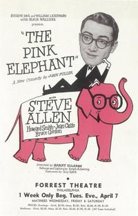 Pink Elephant, The (Broadway) - 11 x 17 Poster - Style A