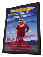 Pink Flamingos - 11 x 17 Movie Poster - Style A - in Deluxe Wood Frame