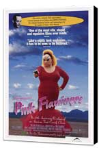 Pink Flamingos - 27 x 40 Movie Poster - Style A - Museum Wrapped Canvas