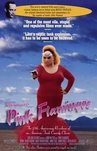 Pink Flamingos - 11 x 17 Movie Poster - Style A - Museum Wrapped Canvas