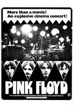 Pink Floyd: Live at Pompeii - 27 x 40 Movie Poster - Style B