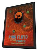 Pink Floyd: Live at Pompeii - 11 x 17 Movie Poster - Style A - in Deluxe Wood Frame