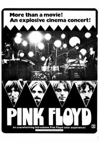Pink Floyd: Live at Pompeii - 43 x 62 Movie Poster - Bus Shelter Style B