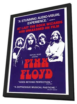 Pink Floyd - 27 x 40 Movie Poster - Style A - in Deluxe Wood Frame