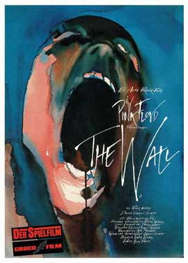 Pink Floyd: The Wall - 11 x 17 Movie Poster - German Style A