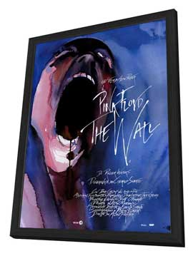 Pink Floyd: The Wall - 27 x 40 Movie Poster - Italian Style A - in Deluxe Wood Frame