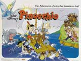 Pinocchio - 30 x 40 Movie Poster UK - Style A
