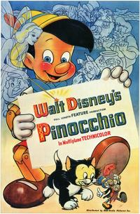 Pinocchio - 11 x 17 Movie Poster - Style B