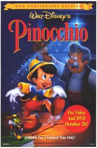 Pinocchio - 11 x 17 Movie Poster - Style C