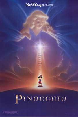 Pinocchio - 27 x 40 Movie Poster - Style B