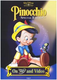 Pinocchio - 27 x 40 Movie Poster - UK Style A