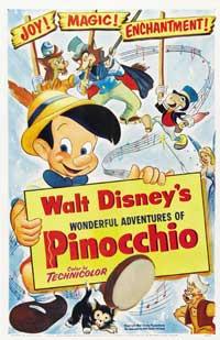 Pinocchio - 27 x 40 Movie Poster - Style E