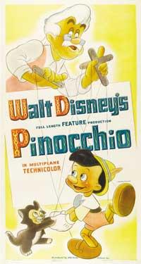 Pinocchio - 11 x 17 Movie Poster - Style K