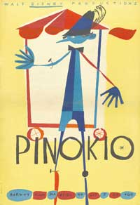 Pinocchio - 11 x 17 Movie Poster - Polish Style A