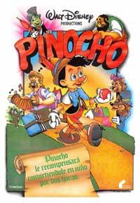 Pinocchio - 11 x 17 Movie Poster - Spanish Style B