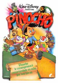 Pinocchio - 27 x 40 Movie Poster - Spanish Style A