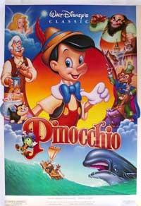 Pinocchio - 11 x 17 Movie Poster - Style O
