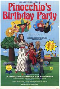 Pinocchios Birthday Party - 11 x 17 Movie Poster - Style B