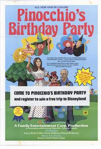 Pinocchios Birthday Party - 27 x 40 Movie Poster - Style A