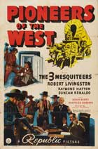 Pioneers of the West - 11 x 17 Movie Poster - Style A