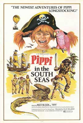 Pippi in the South Seas - 11 x 17 Movie Poster - Style A