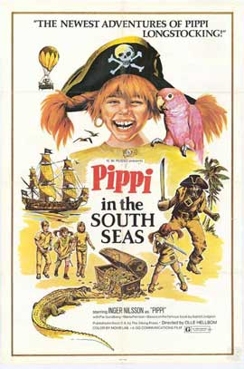 Pippi in the South Seas - 27 x 40 Movie Poster - Style A