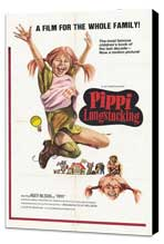 Pippi Longstocking - 27 x 40 Movie Poster - Style A - Museum Wrapped Canvas